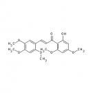 ST083652 Rubone; 2'-Hydroxy-2,4,4',5,6'-pentamethoxychalcone